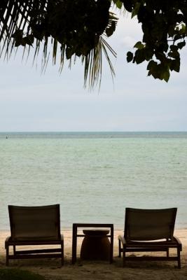 Beach Paradise Front Seats